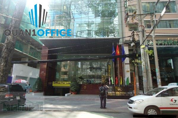 văn phòng cho thuê quận 1 - cao ốc HDTC BUILDING